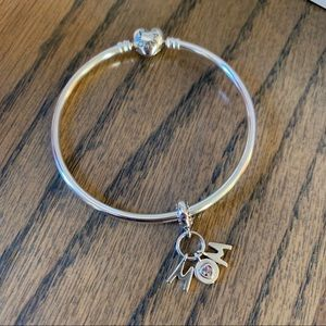 Pandora Jewelry - PANDORA Perfect Mom Bangle Gift Set Bracelet New